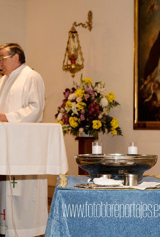 fotos de ceremonia de bautizo
