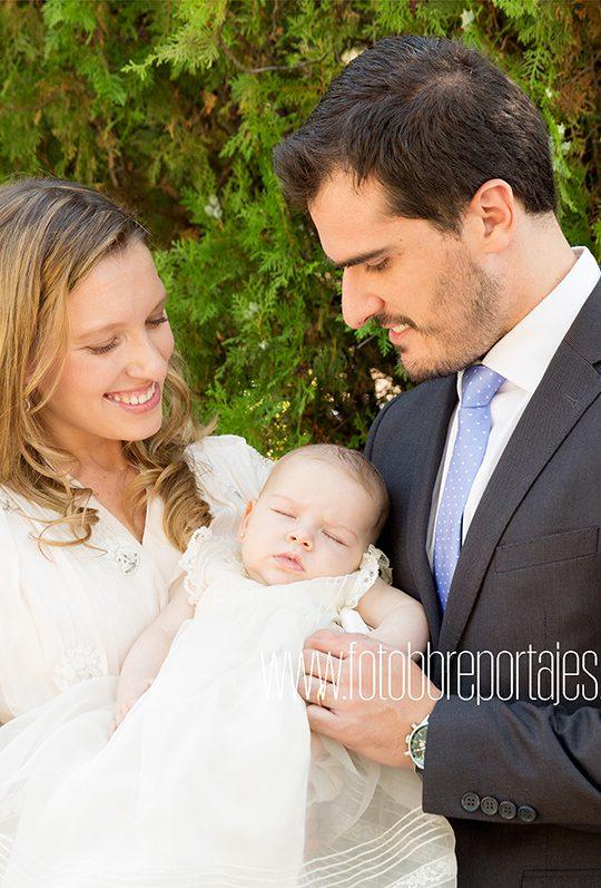 reportaje fotográfico de bautizo Madrid
