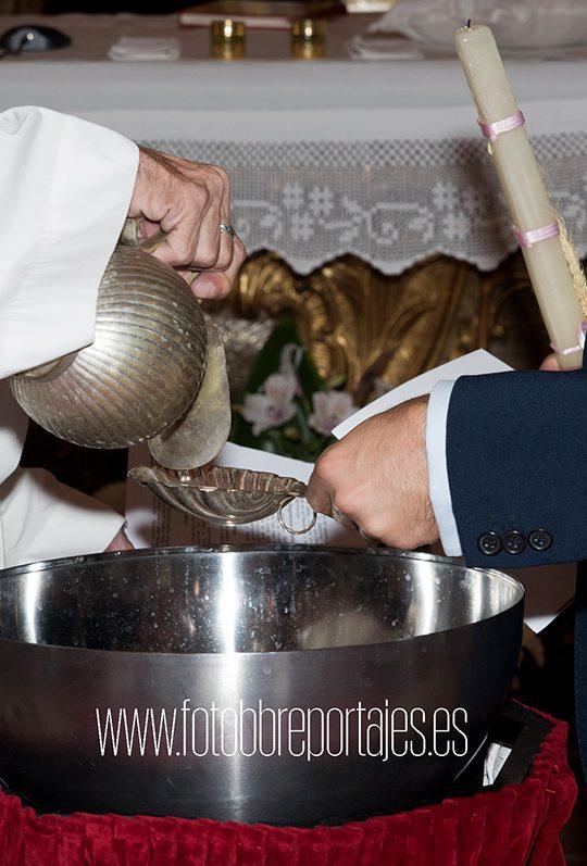 reportaje fotográfico de bautizo