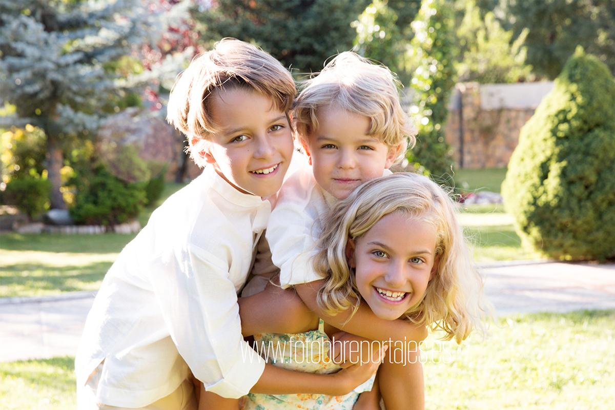 reportaje fotografico de familia