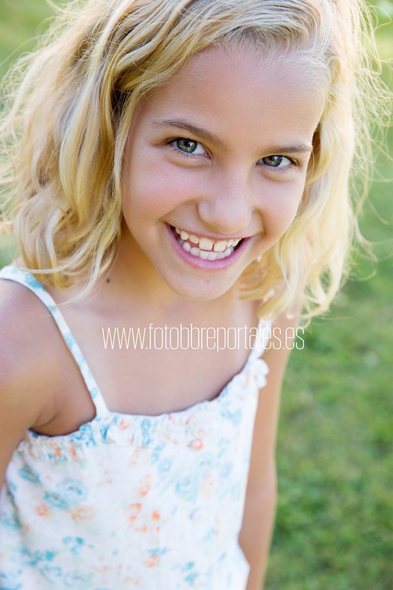 reportaje fotografico de niños en exteriores