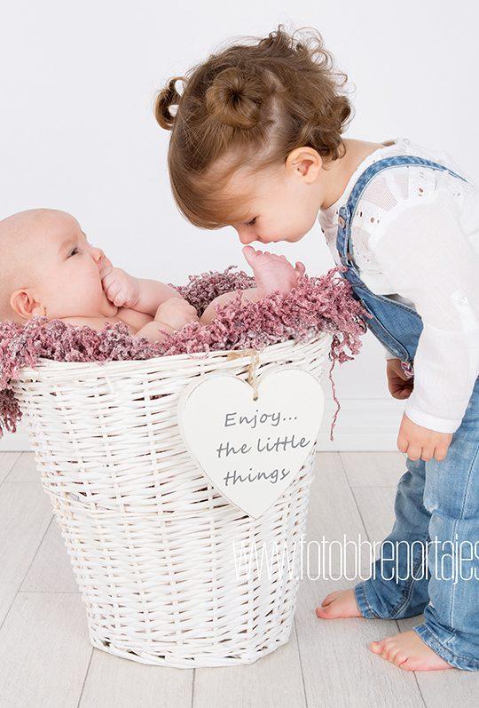 sesion de fotos de bebe
